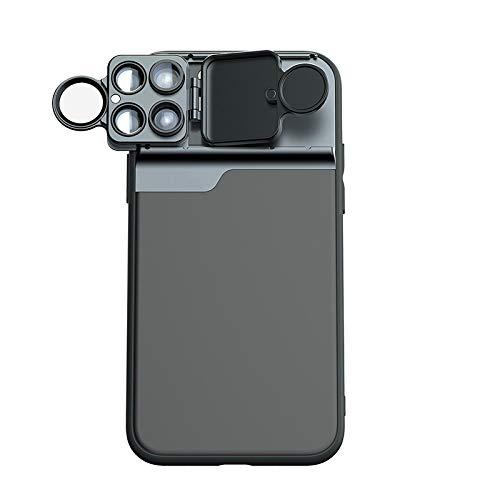 iPhone11 AllinOne Telefoon Lens Pro Extern Apple 11 Camera Max Telefoonhoesje pro [Macro + Fisheye + Telephoto + CPL filter] 0