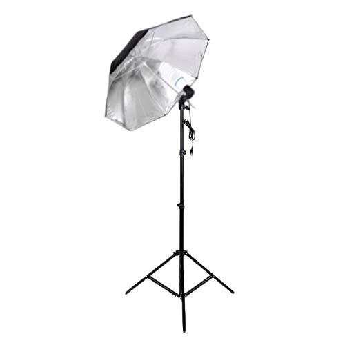 Trípode de luz de pie utilizado para anillo de luz suave caja de paraguas, video de tiro, equipo fotográfico, adecuado para iluminación de estudio de fotografía y fotografía de retrato