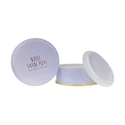 White Diamonds por Elizabeth Taylor para mujeres, polvo corporal, 2.6 onzas