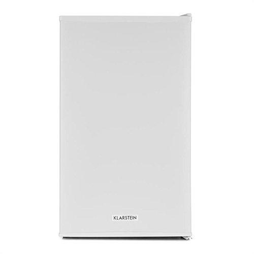 KLARSTEIN MKS-6 Nevera minibar - Frigorífico Clase A, Capacidad 66L, 3 Niveles de Temperatura 5-15°C, Silencioso 33dB, 83W, Iluminación Interior, Estanterías, Compartimentos Laterales, Blanco