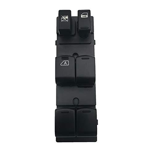 KUANGQIANWEI Botonera elevalunas Ajuste para Nissan Teana X-Trail T31 Qashqai Power Window Control Interruptor Interruptor del Interruptor del Interruptor del regulador Accesorios para automóviles