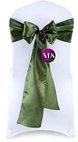 VDS Chair Sashes Satin Ribbon Bows Banquets Events D Manufacturer regenerated Sale item product for Wedding