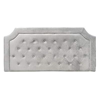 Esta tapizado con: terciopelo. Sus medidas son: 160x7x78 cm. Un cabecero de cama perfecto para diseñar ambientes de estilo: clásico, vintage, shabby chic. Un producto recomendado para cama de 135 - 150 cm. tapizado capitoné con botonadura. Material: ...