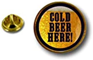 Spilla Pin pin's Spille spilletta Giacca Bandiera Badge Biker Birra Cold Beer