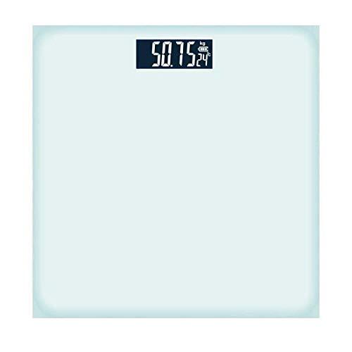 B/H Báscula de baño Digital,Tableta Scale-White_Battery,Escala Personal Digital Inteligente,