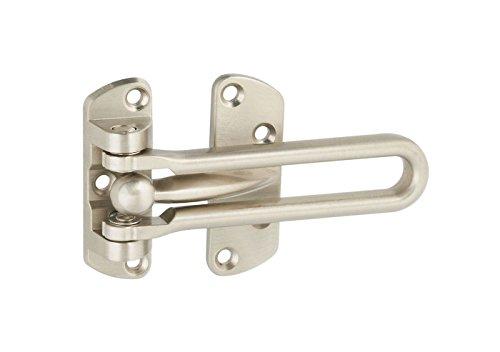 National Hardware N335-984 2 Pack V804 Door Security Guard, Satin Nickel