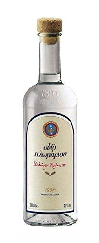 Ouzo of Plomari 40% 0,2l Flasche Anis