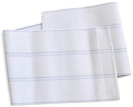 "Dealmed Abdominal Binder, Compression Wrap, Support Belt for Lower Waist (3 Panel, 9"", Small, 30""-45"")"