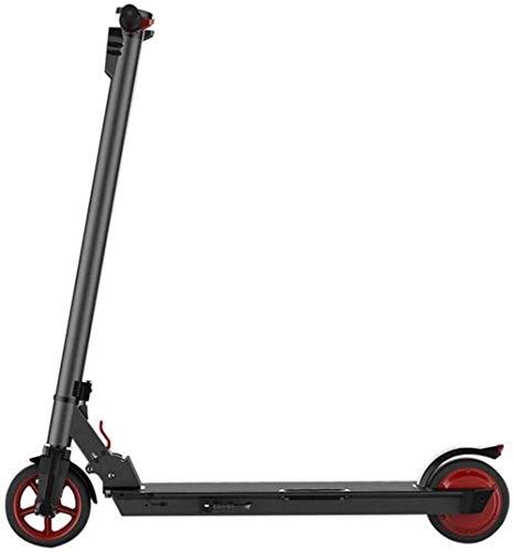 No logo LMCLJJ Scooter eléctrico Bicicleta Scooter de Coche eléctrico de Dos Ruedas Coche eléctrico Plegable Mini Coche eléctrico de vehículos Adultos eléctrica Coche eléctrico de Dos Ruedas