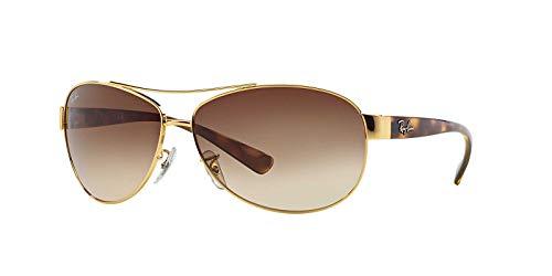 Ray-Ban Unisex - Erwachsene Mod. 3386 Sonnenbrille, Schwarz (Blac/grau), 63