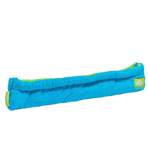 Guardog Terry Kufenschoner für Eislaufschuhe, blau-grün