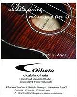 Oihata Ukulele Strings ウクレレ弦 セット ミディアムゲージ Low-G Set
