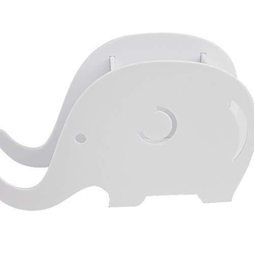 ZLBYB Moderne minimalistische Desktop-Aufbewahrungsbox Federmäppchen Elefantenwal Stil Stifthalter