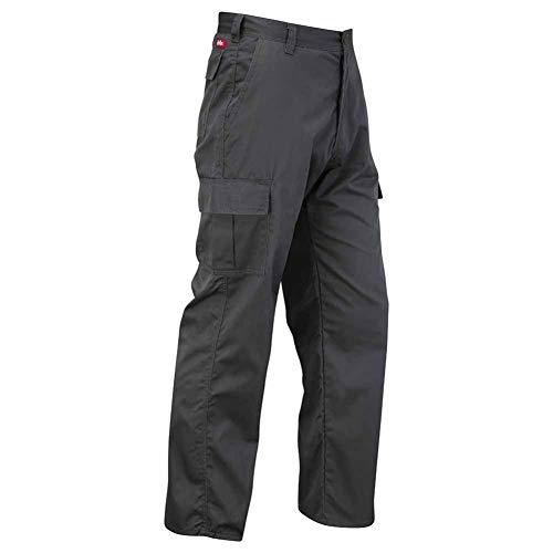 Lee Cooper Herren Cargo Trouser Hose, Grey, 36W/33L (Long)