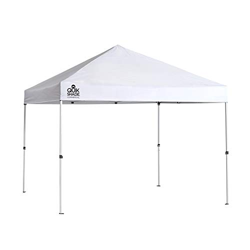 Quik Shade Commercial C100 Instant Canopy with Full Wall, 10x10-Feet