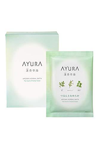 アユーラ (AYURA) 蓬香草湯α 40g×8包 < 浴用化粧料 > 植物エキスと保湿成分に やさしく包まれて なめらか...
