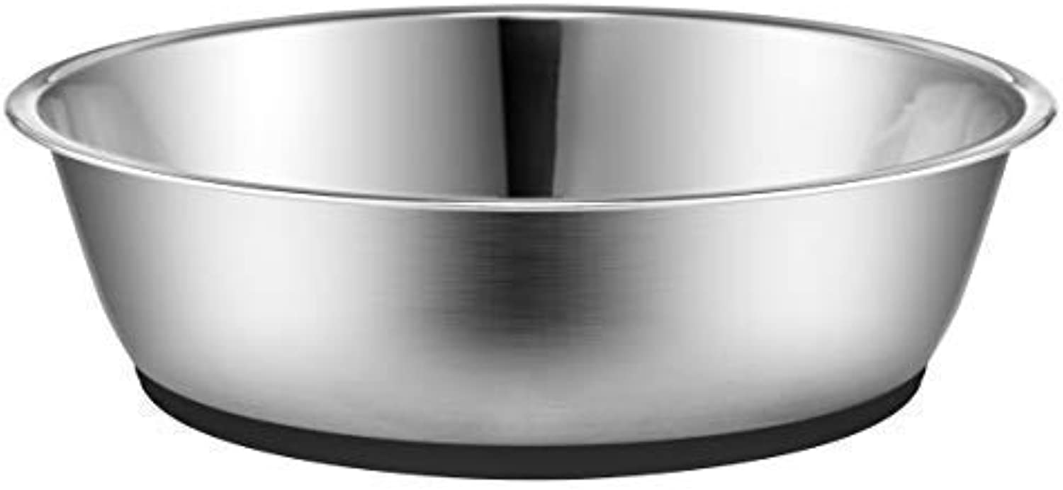 Peggy 11 Light NonSlip Stainless Steel Dog cat Bowl 50 Ounce