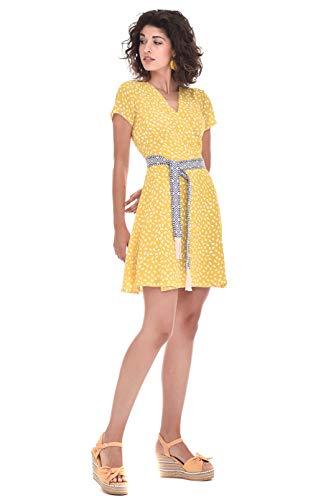 TONALA | Vestido Mujer Casual Boho Corto Manga Corta | Vestido invitada...