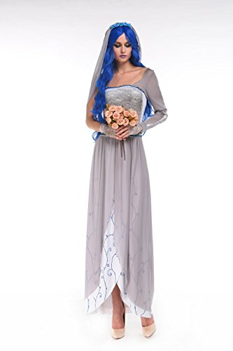 Corpse Bride Costume - Halloween Women Sexy The Corpse Bride Costume for Adult