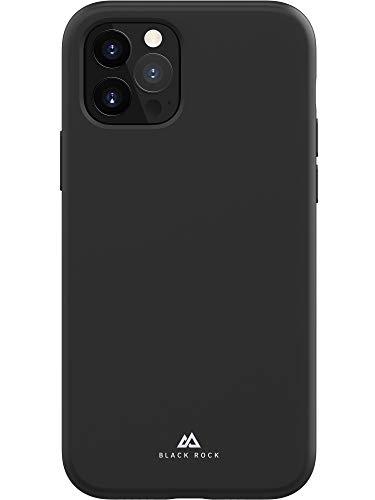 Black Rock - Hülle Fitness Case Passend für Apple iPhone 12/12 Pro | Silikon Handyhülle, Dünn, rutschfest (Schwarz)