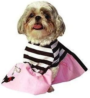 Doggiduds Poodle Girl Costume Large 18-22