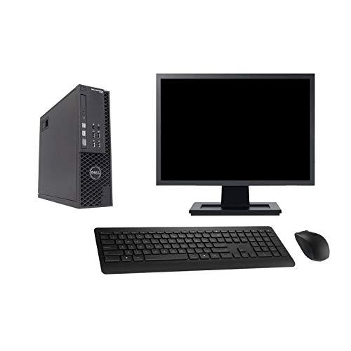 Dell PC T1700 SFF Screen 27 ' Intel i5-4570 RAM 32Go SSD 120Go Windows 10 Wifi (Reconditioned)