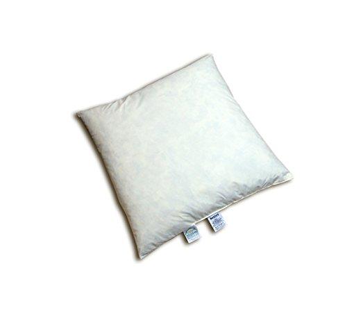 """beties """"Publik"""" Federkissen ca. 50x50 cm (echte Federn) vielfältige Größen und Füllmengenauswahl, waschbar traditionell gefertigt Farbe Creme"""