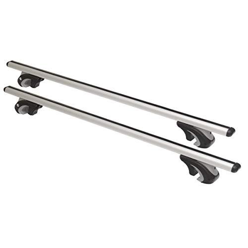 Universaler Aluminium Dachträger an offene Dachrelinge 120 cm T-Nut 20 mm hochwertig