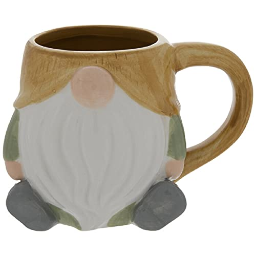 Gnome Coffee Mug 17.5 Ounce (Autumn Yellow)