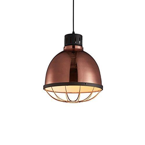 Kroonluchter postmodern bar verlichting kassa verlichting restaurant kroonluchter café lampen en lantaarns Creative Iron E27, unieke kop, 25 - 32 cm, verlichting 100 cm, ketting verstelbaar (grootte: 32 x 138,5 cm)