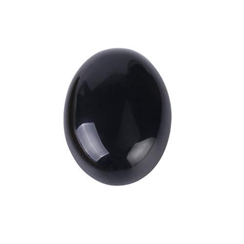 HONGTAI 1 UNID Piedra Natural Oval CABOCHON DEBAGO DE LASIDIANA Sin Agujero para la joyería de Moda Que Hace Anillo Cara Pulsera Collar (Size : 18x25mm)