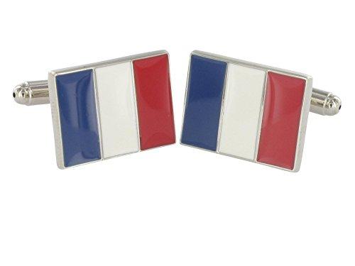 Teroon boutons de manchette France flag