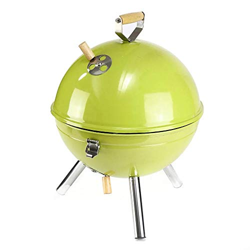 Why Should You Buy Barbecue Grill Outdoor Grilling 30x44cm Iron Oven BBQ Grill Charcoal Grill Portab...