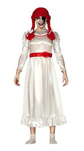 FIESTAS GUIRCA Disfraz muñeca diabólica Adulta Talla l 42 44