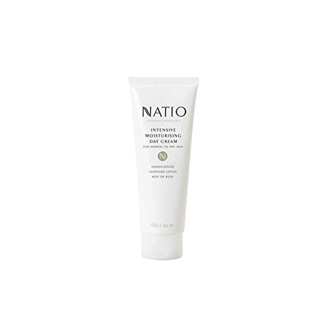 フレームワーク決めます処分した集中的な保湿デイクリーム(100グラム) x4 - Natio Intensive Moisturising Day Cream (100G) (Pack of 4) [並行輸入品]