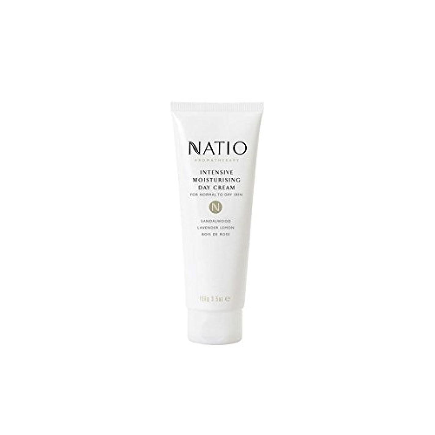 パーツ展示会声を出して集中的な保湿デイクリーム(100グラム) x4 - Natio Intensive Moisturising Day Cream (100G) (Pack of 4) [並行輸入品]