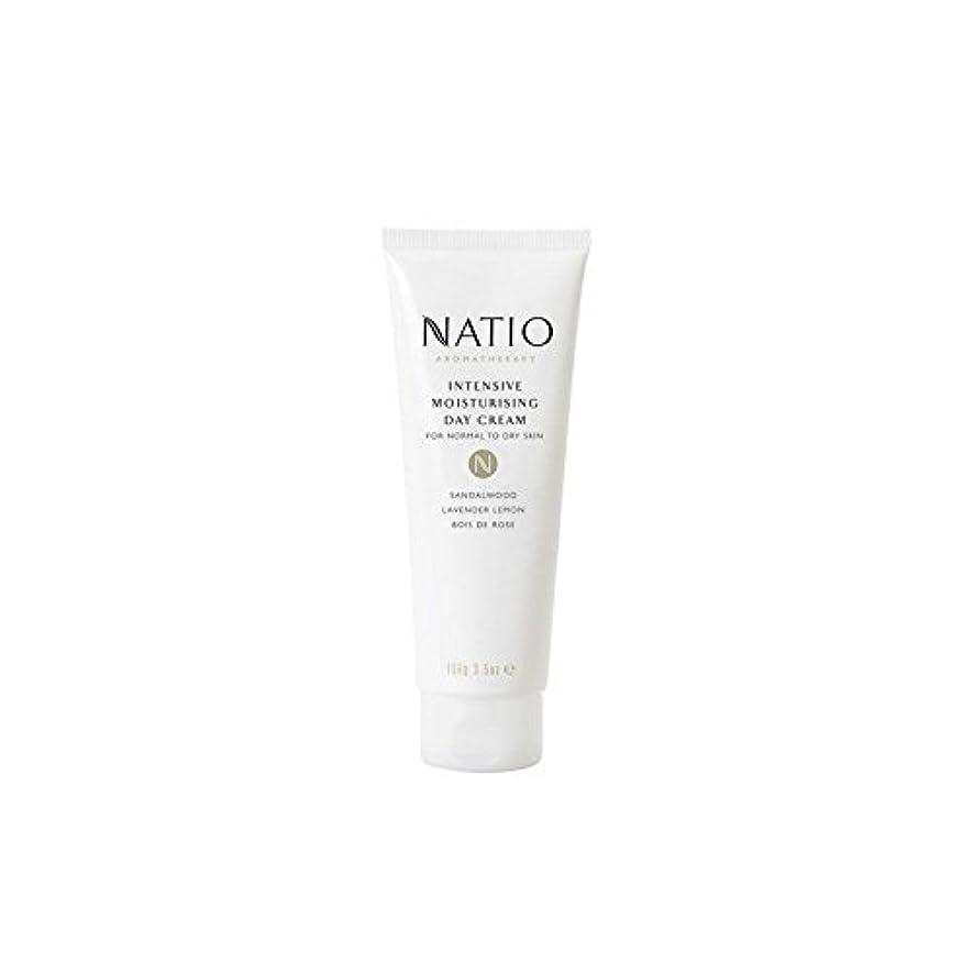 療法圧倒的ファントム集中的な保湿デイクリーム(100グラム) x4 - Natio Intensive Moisturising Day Cream (100G) (Pack of 4) [並行輸入品]