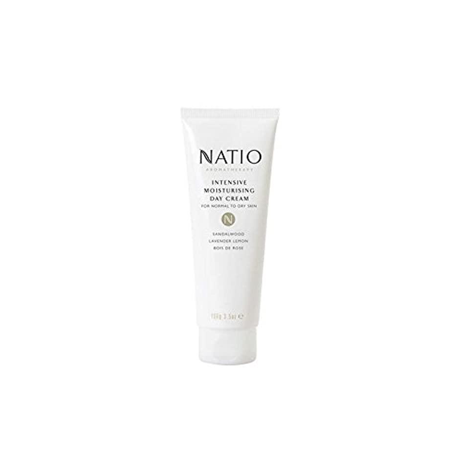 読みやすい歯科の無声でNatio Intensive Moisturising Day Cream (100G) - 集中的な保湿デイクリーム(100グラム) [並行輸入品]