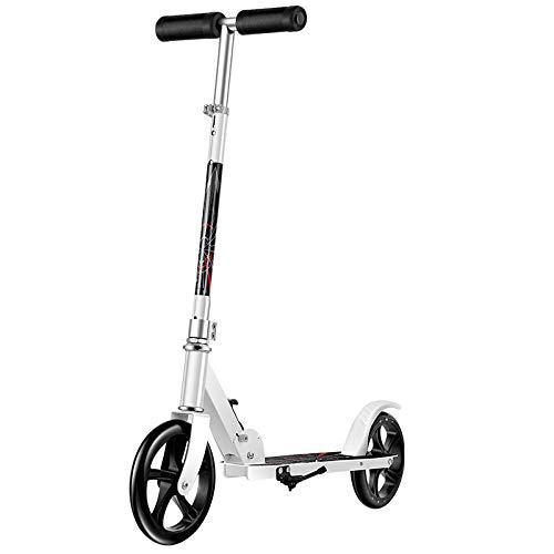 LIYANJJ Coche para Caminar, Altura Ajustable, inclinarse para dirigir, patinetes Plegables de la Serie City para Jinetes de hasta 220 Libras para Adultos y Adolescentes