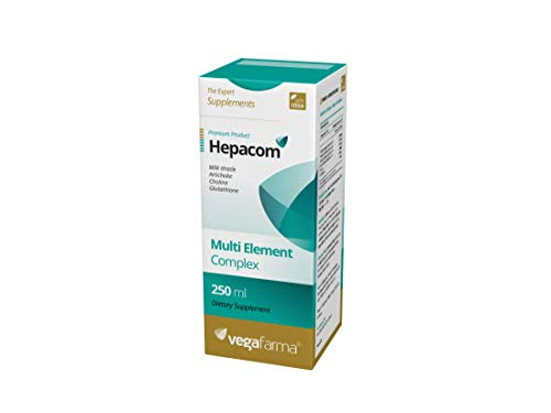 Vegafarma Hepacom Advanced 250 ml - 1 unidad