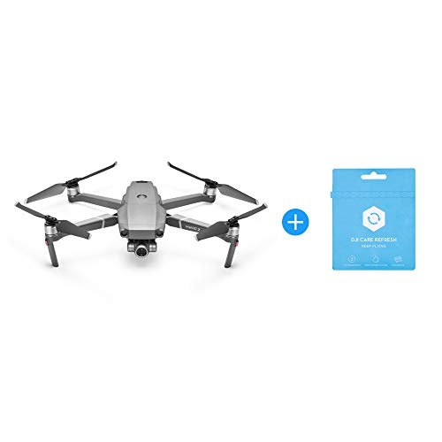DJI Mavic 2 Zoom Drone Quadcopter with DJI Care Refresh Combo Bundle