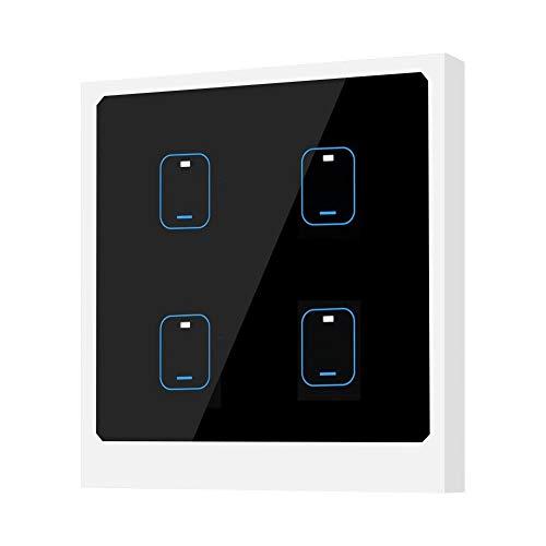 Smart WiFi Switch, Interruttore a Sfioramento Tattile a Parete Wireless, Smart Timing Switch, App Controllo Remoto
