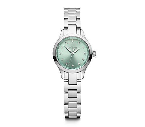 Victorinox Alliance XS, Green dial, Silver Bezel, Silver SST Bracelet