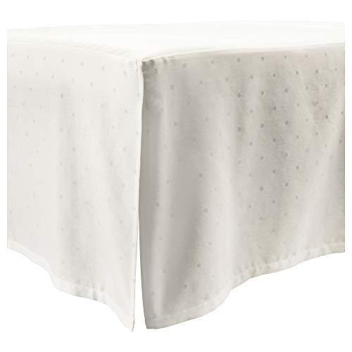 Falda de cuna LENAST 60x120 cm punteado/blanco