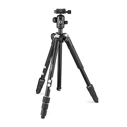 JOBY RangePod Smart, Aluminium Traveller Camera/SmartphoneTripod with Ball Head,...