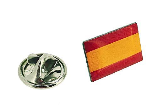 Gemelolandia | Pin de Solapa Bandera España Mod II | Pines Originales y Baratos Para Regalar | Para las Camisas, la Ropa o para tu Mochila | Detalles Divertidos