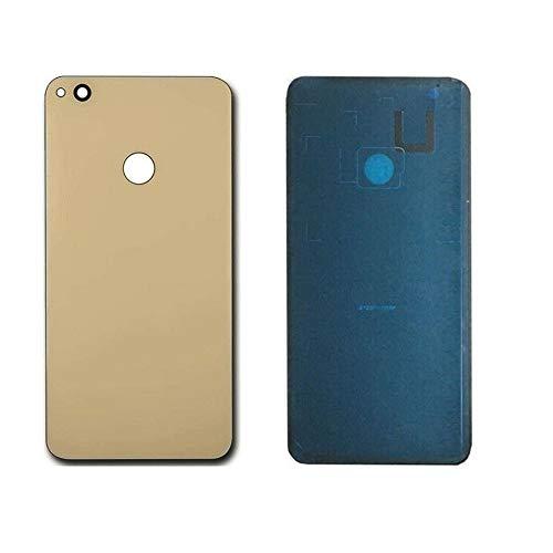 Generieke achterkant cover glas achterwand + sticker compatibel voor Huawei P8 Lite 2017 Pra-LX1 LA1 LX3 Gold