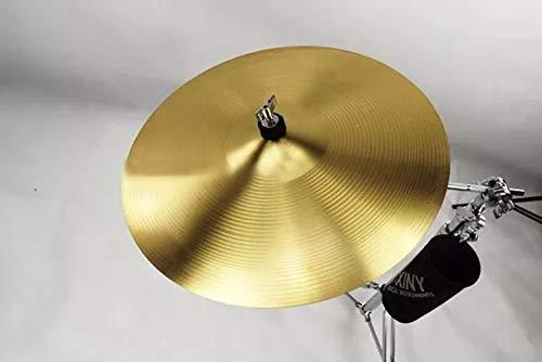 Splash Crash Kide Hi-Hat-Becken für Schlagzeug, Messing, 1 Stück 8 Inch