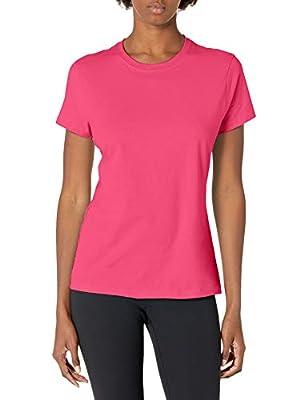 Hanes Women's Nano T-Shirt, Small, Wow Pink