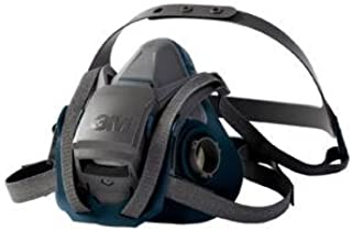 3M 50051131494904 Rugged Comfort Half Mask 6500 with Quick Latch System